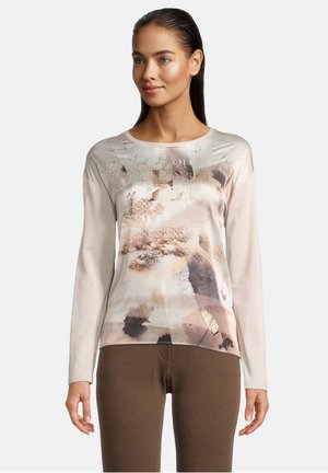 Langærmede T-shirts - nature/brown