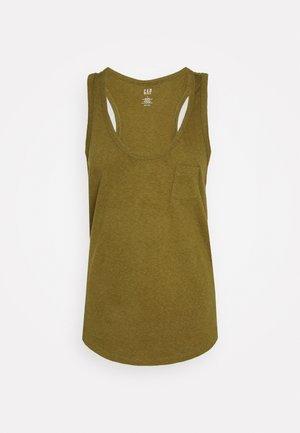 TANK - Topper - olivine
