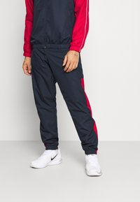 Lacoste Sport - TRACK SUIT - Tracksuit - navy blue/ruby/white - 4