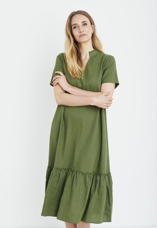 Vestido informal - olivine