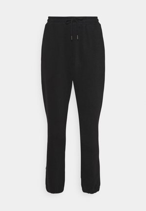TERRY  - Tracksuit bottoms - black