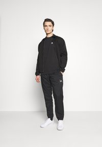 adidas Originals - TREFOIL TEE - Print T-shirt - black/white - 1