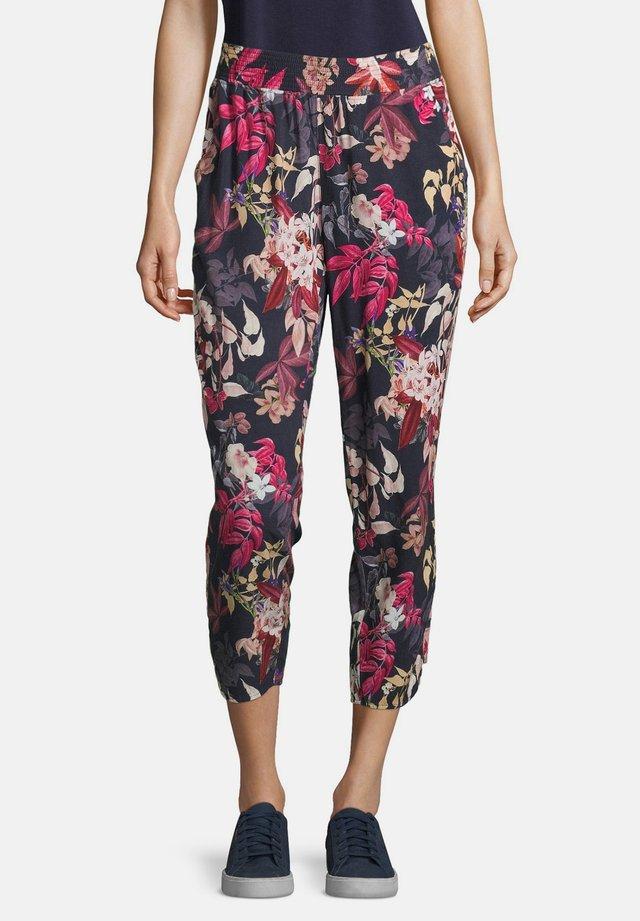 Trousers - blue/rosé