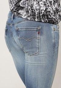 Replay - HYPERFLEX LUZ - Jeans Skinny Fit - blue - 4