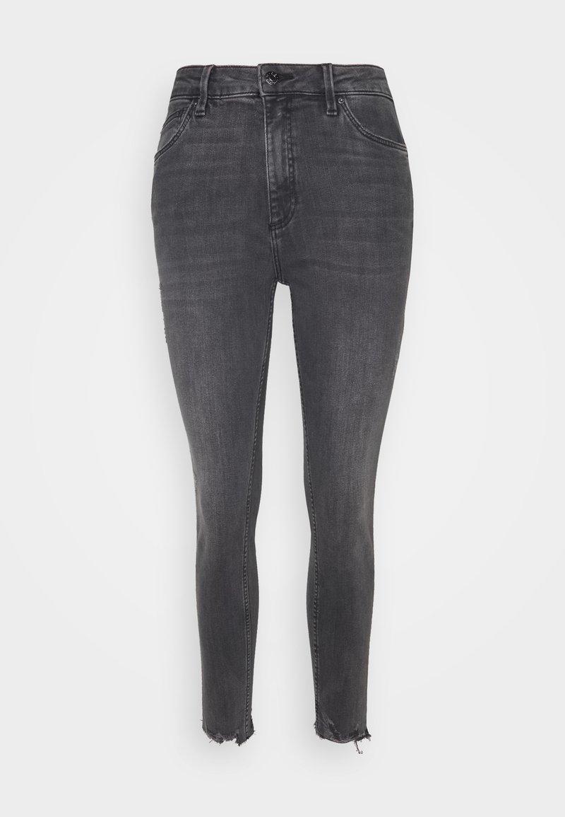 Q/S designed by - Jeansy Skinny Fit - grey/black denim
