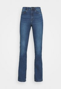 Noisy May - NMSALLIE - Flared jeans - medium blue denim - 3
