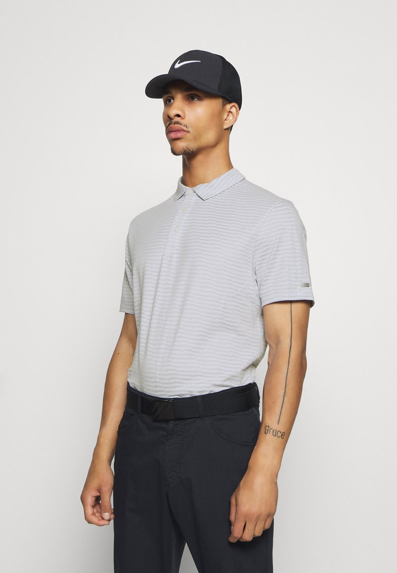 Nike Golf - DRY PLAYER - Funkční triko - white/sky grey/brushed silver