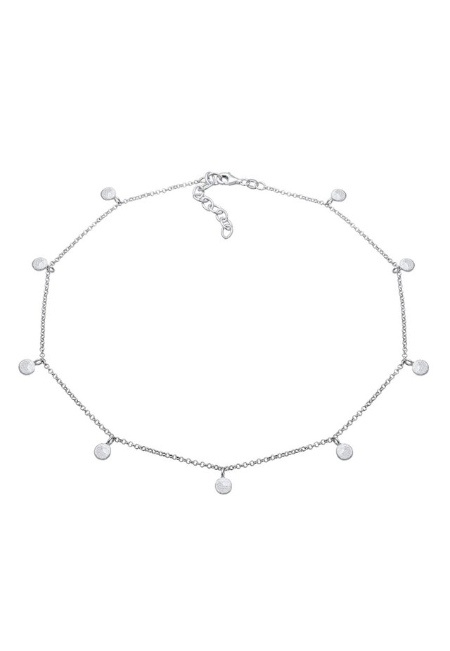 GEO KREIS BASIC MATT COIN - Collier - silver