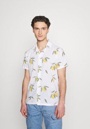 RESORT PRINT - Shirt - white grounded