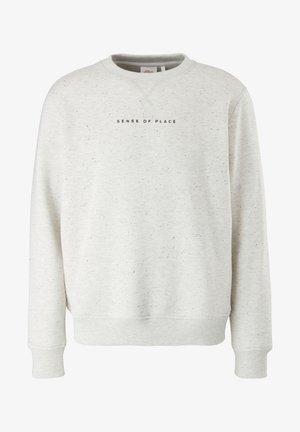 Sweatshirt - off white dots
