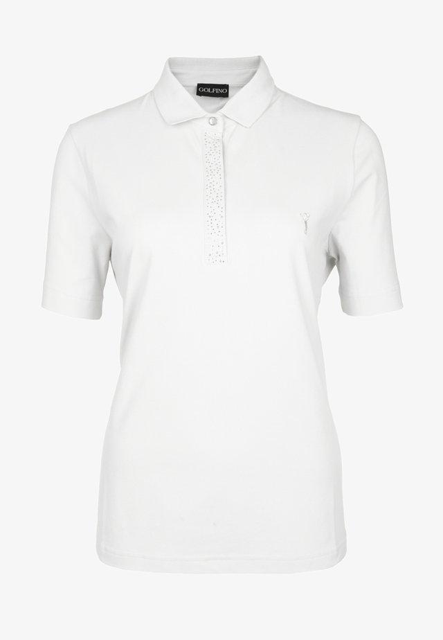 MELANIA - Polo shirt - white