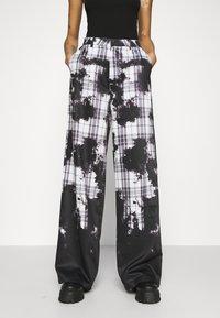 Jaded London - WIDE LEG TROUSER - Kalhoty - multi - 0