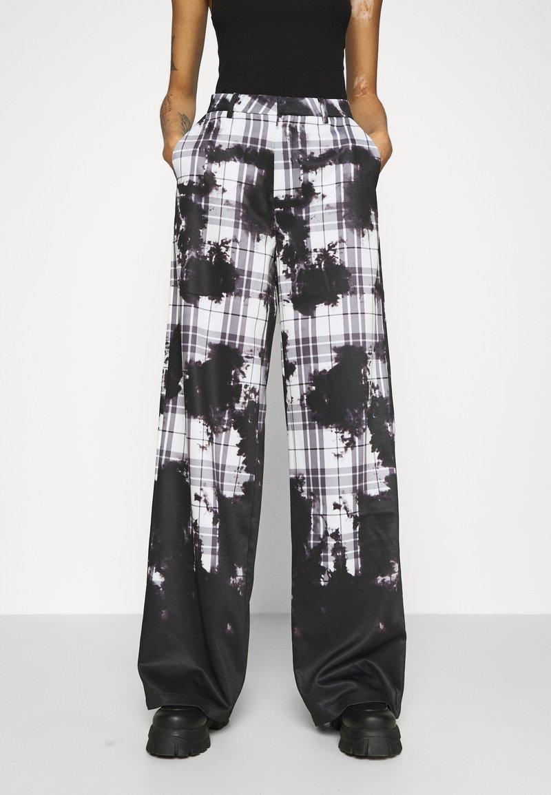 Jaded London - WIDE LEG TROUSER - Kalhoty - multi