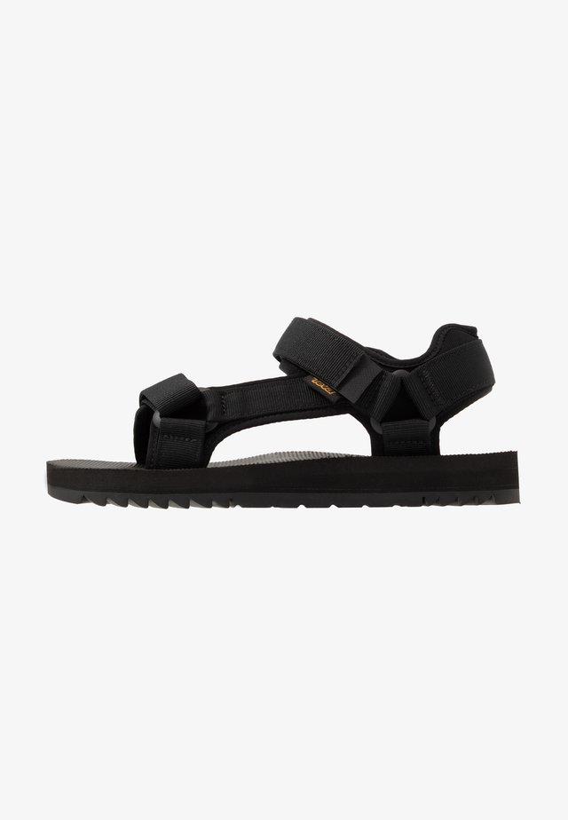 UNIVERSAL TRAIL - Walking sandals - black