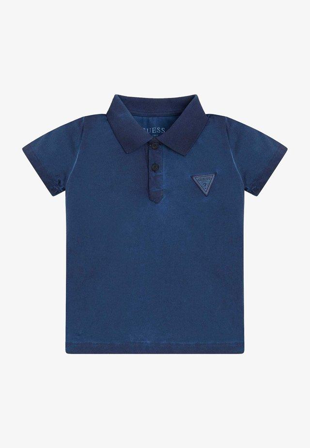 Poloshirt - bleu deck blue