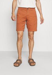 Selected Homme - SLHCHESTER FLEX CAMP - Shorts - sierra - 0