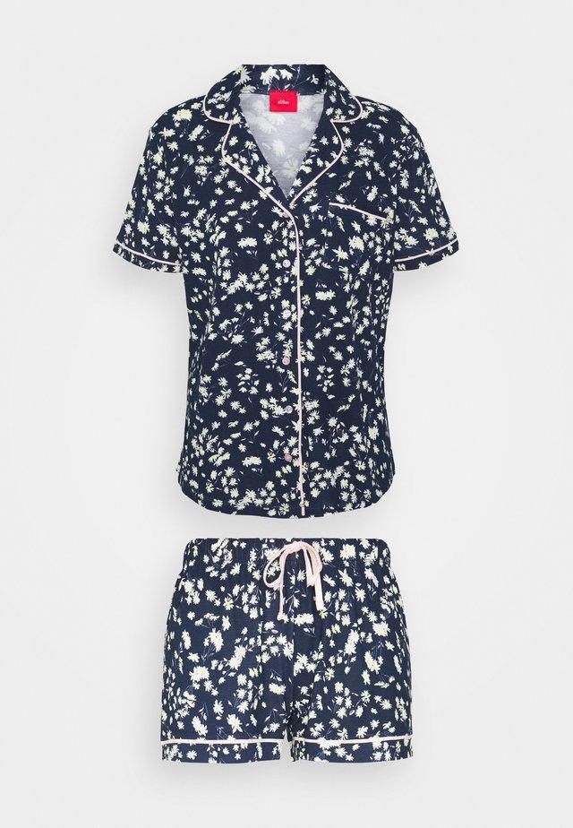 SHORTY - Pyjamas - dark blue