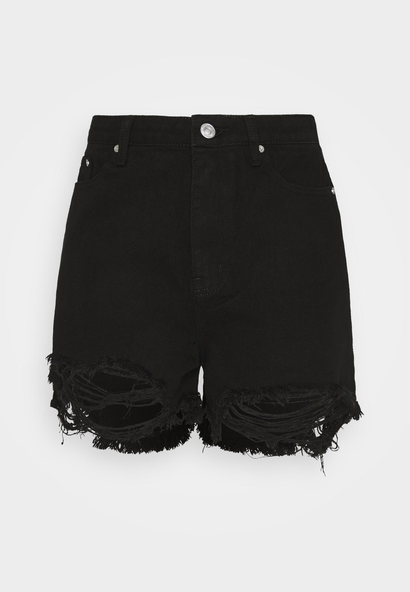 Missguided Tall - Jeansshorts - black