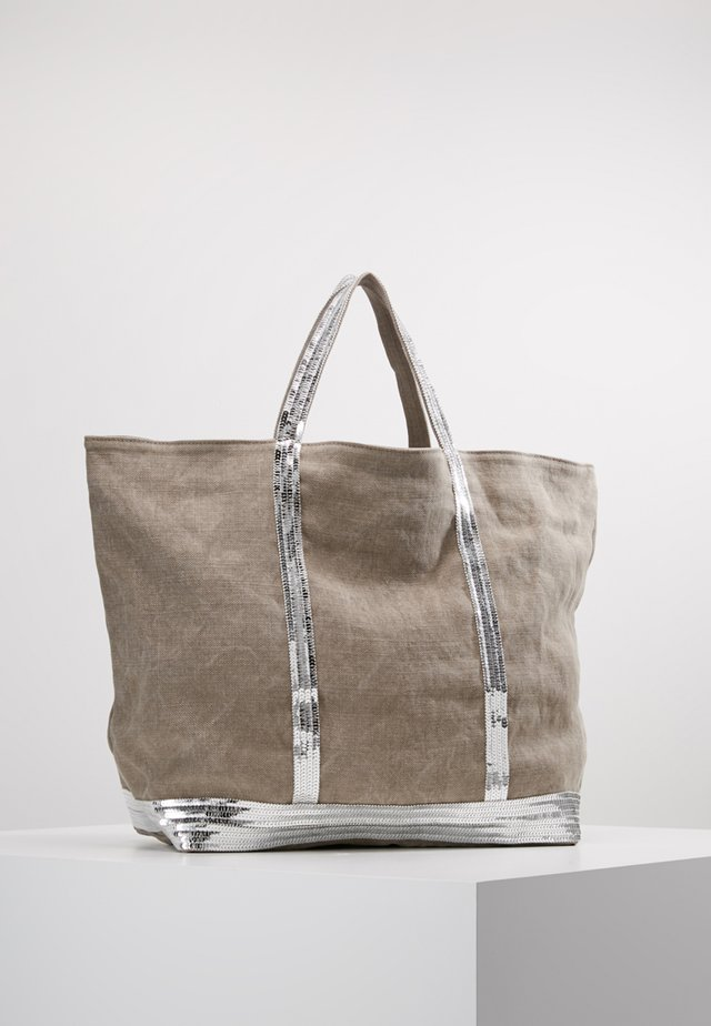 CABAS GRAND - Shopping bag - calcaire