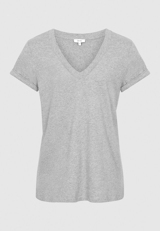 LUANA - T-shirt basic - grey