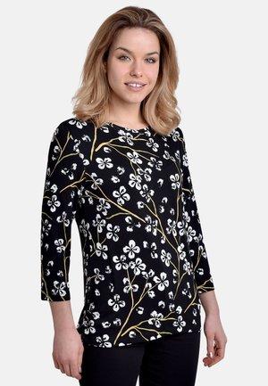 Långärmad tröja - black-white