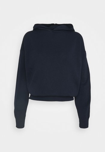 HOODED JUMPER WITH LONG SLEEVES