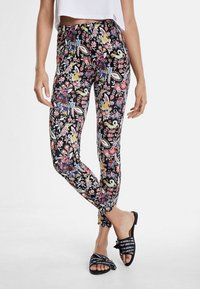 Desigual - DESIGNED BY CHRISTIAN LACROIX - Leggings - black - 0