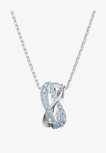 TWIST PENDANT - Necklace - fancy light blue