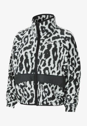 SHERPA - Fleece jacket - grey/black/white