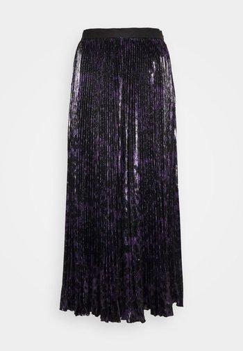 BRETT - Plisovaná sukně - simple/black