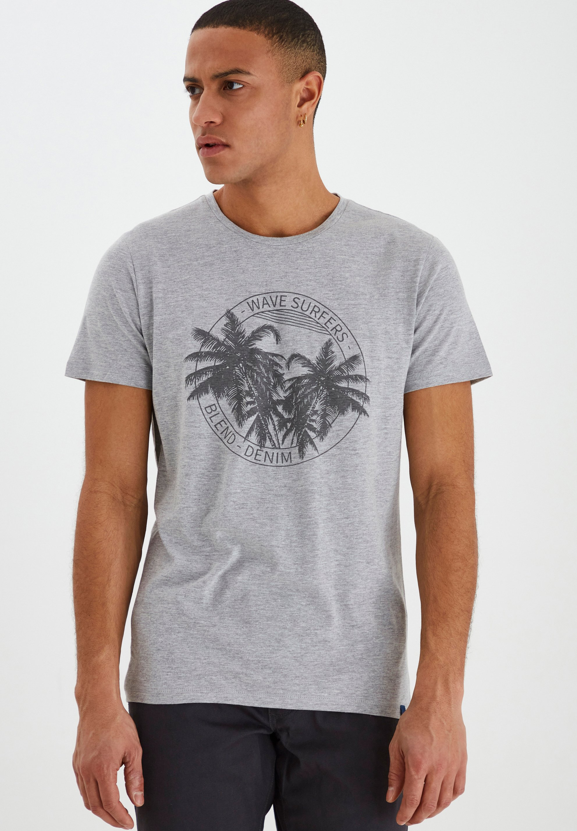 Homme DAVIS - T-shirt imprimé