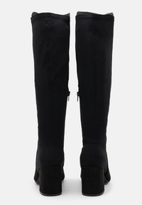 New Look Wide Fit - WIDE FIT CLARIFY STRETCH BACK BLOCK - Boots - black