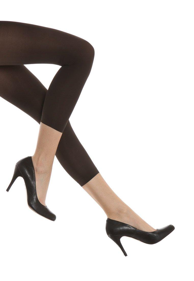 FALKE - FALKE PURE MATT 50 DENIER LEGGINGS HALB-BLICKDICHT MATT - Leggings - Stockings - anthracite