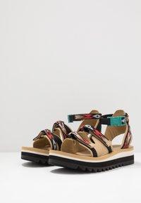Teva - MIDFORM CERES WOMENS - Walking sandals - double diamond/firey red - 2