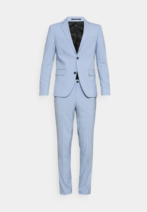 PLAIN MENS SUIT - Suit - mid blue