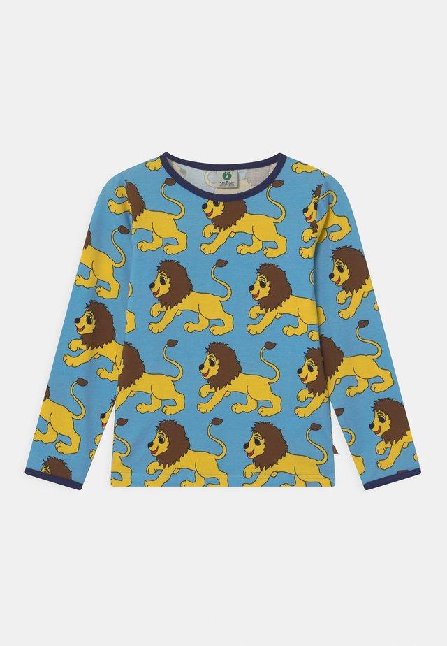 LION UNISEX - Langærmede T-shirts - blue grotto