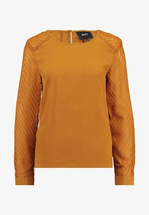 OBJZOE TOP PETIT - Blouse - buckthorn brown