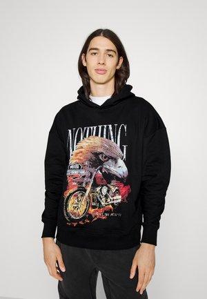 EAGLE HOOD UNISEX - Sweater - black
