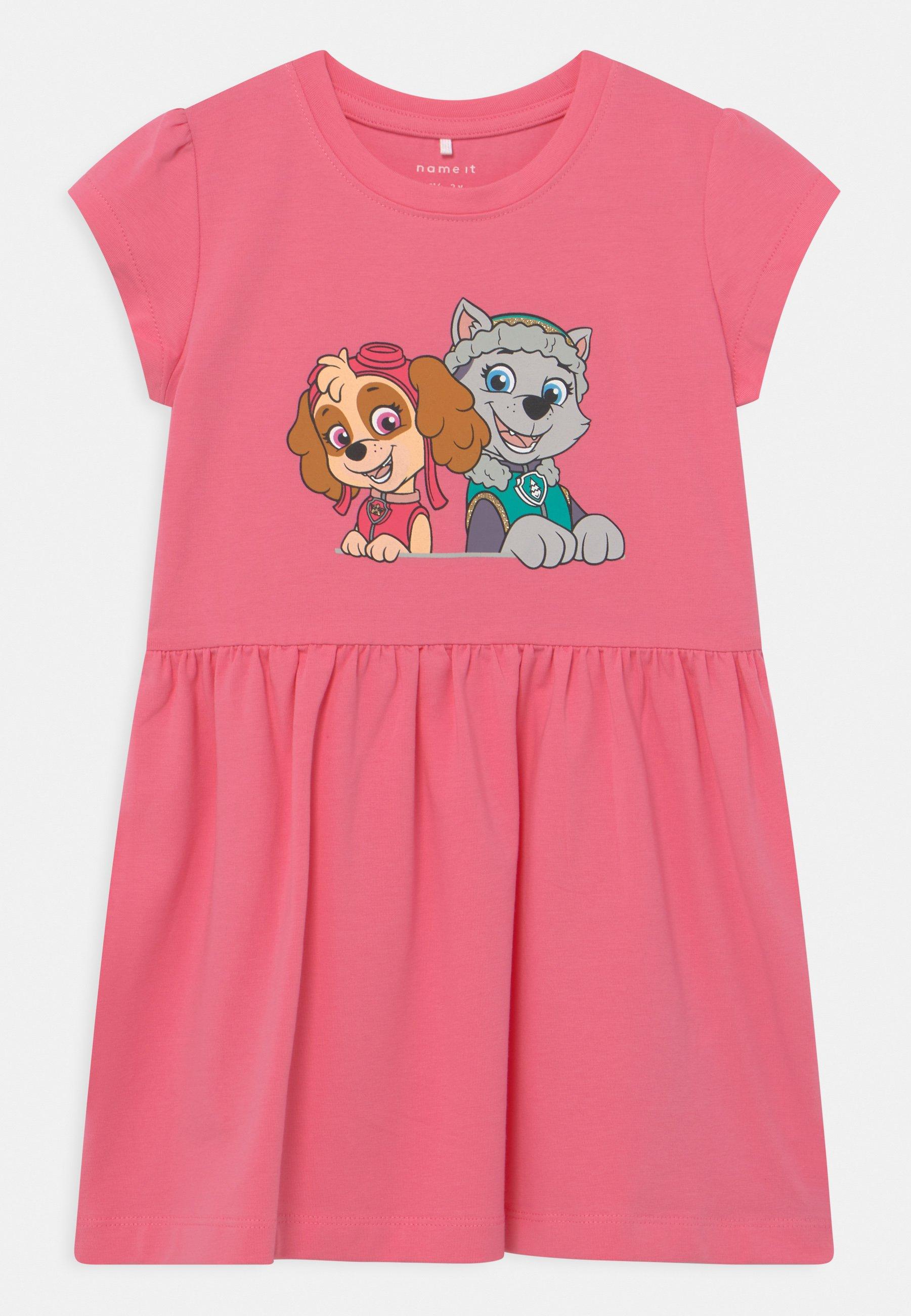 Kids NMFPAWPATROL TRINITY  - Jersey dress