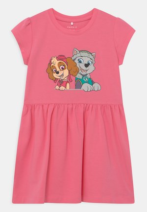 NMFPAWPATROL TRINITY  - Žerzejové šaty - pink