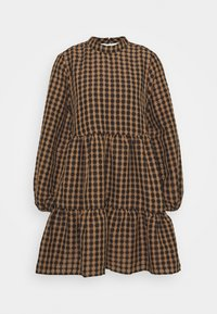 OBJARRIE DRESS 2-IN-1 - Day dress - chipmunk