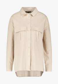 one more story - Button-down blouse - oyster beige - 4