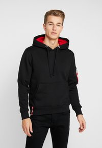 Alpha Industries - HOODY - Hoodie - black