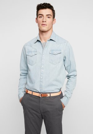 WESTERN IN SEASONAL WASHES - Košile - bleached indigo