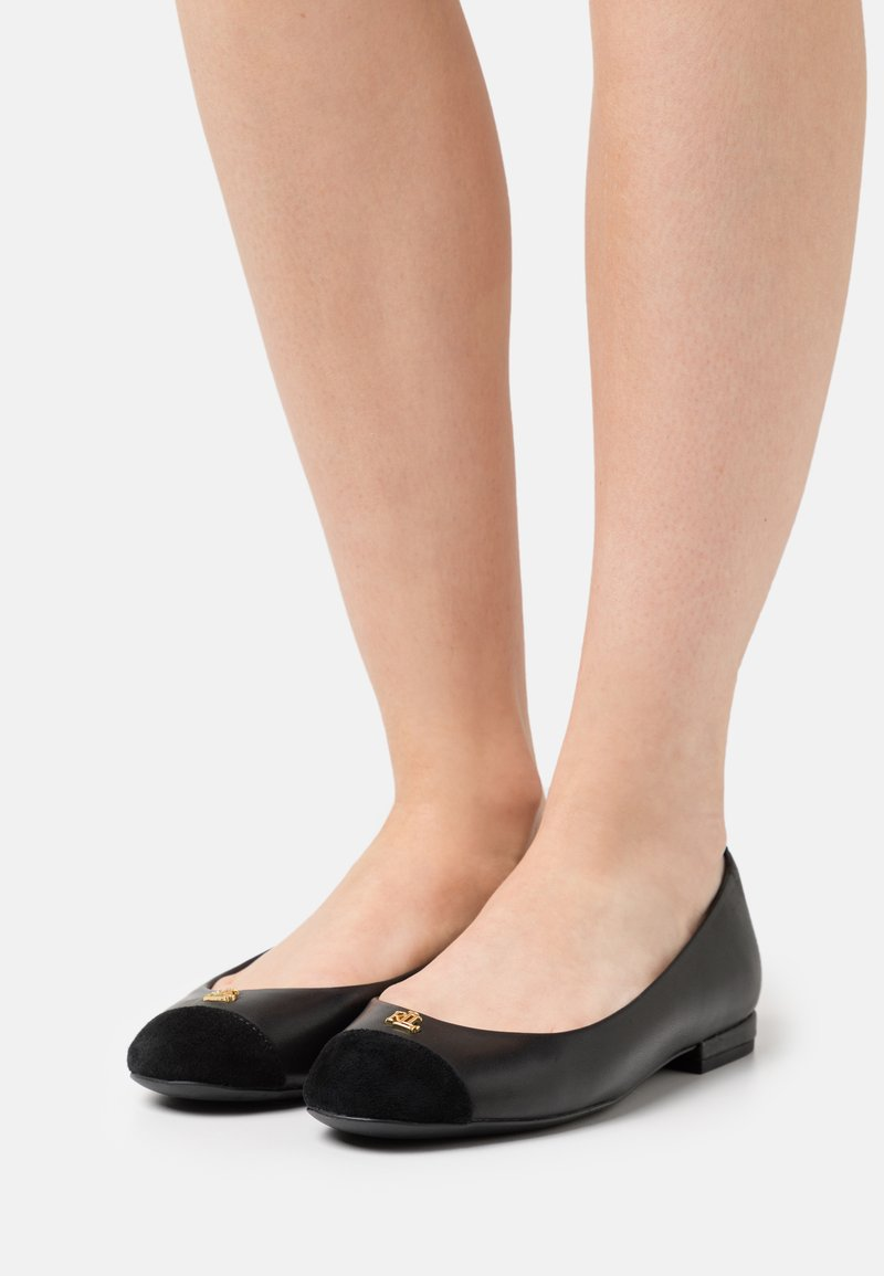 Lauren Ralph Lauren - GAINES - Ballet pumps - black
