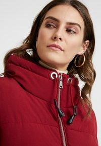 Esprit - PADDED COAT - Winter coat - dark red - 3