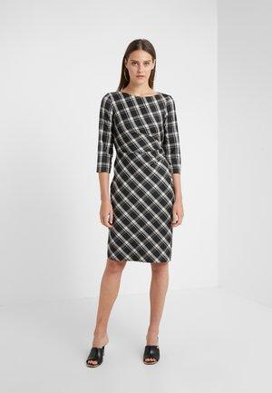 FIORINA - Shift dress - dunkelgrau