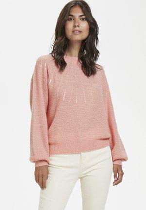 Strikpullover /Striktrøjer - light pink