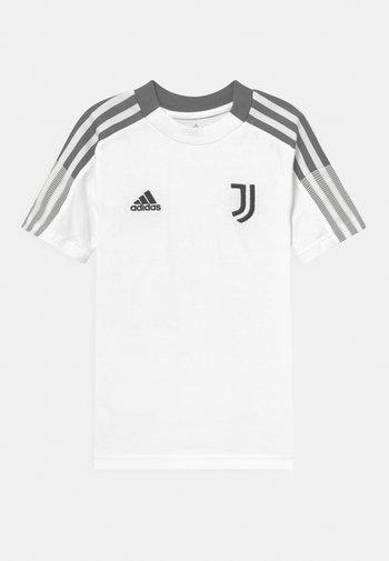 JUVENTUS TURIN TEE UNISEX - Club wear - core white