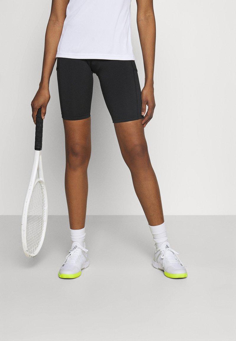 adidas Performance - CLUB  - Korte broeken - black/white